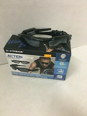 Xtreme Action View Sunglasses with Built-in HD Camera.