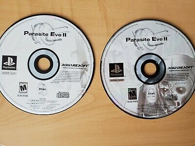 Parasite Eve II -- Sony Playstation 1 PS1 -- C+ CONDITION -- DISCS ONLY