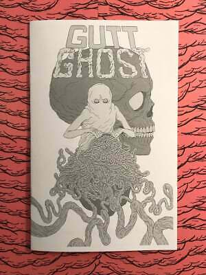 Gutt Ghost 1 Ashcan Extremely rare and limited IN HAND