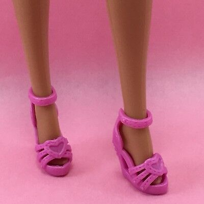 Doll Shoes ~ 3PAIRS Mattel Barbie High Heel Sandal Shoes #S2231 Model Muse Doll