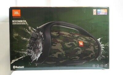 JBL Boombox Portable Wireless Bluetooth Waterproof Speaker - Camouflage