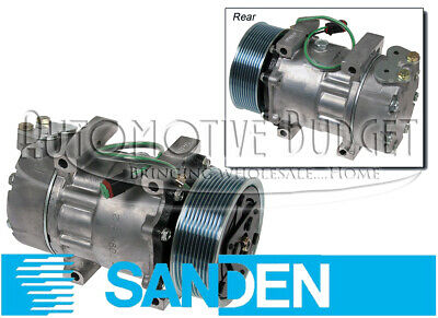 A/C Compressor w/Clutch for Scania Trucks - NEW OEM