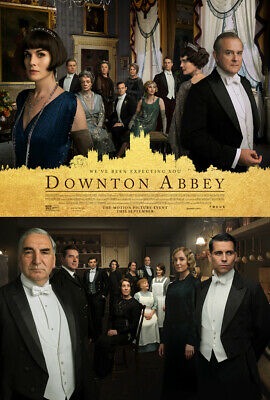 DOWNTON ABBEY MOVIE POSTER 2 Sided ORIGINAL Version B 27x40 MICHELLE DOCKERY