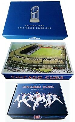 CHICAGO CUBS Baseball -- 2003 to 2018 -- SEASON TICKET BOX and LEDGER