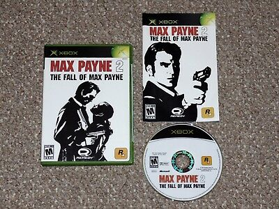Max Payne 2: The Fall of Max Payne Microsoft Xbox Complete