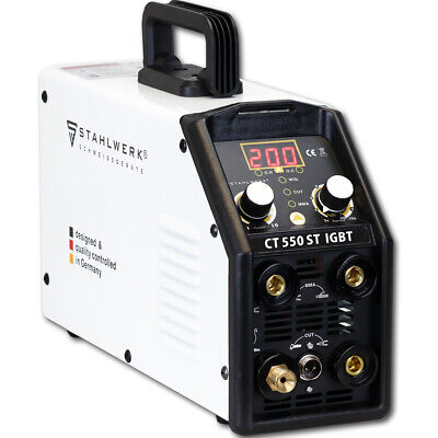 TIG Welder STAHLWERK CT 550ST with PLASMA CUTTER - IGBT Inverter Welding Machine