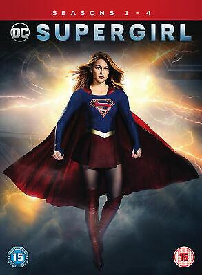 Supergirl: Season 1-4 [2019] (DVD) Blake Lively, Simon Baker, Kevin Brophy