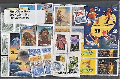 US Postage - One Ounce Rate - Below Face (88 x 20c, & 44 x 15c), Mint OG