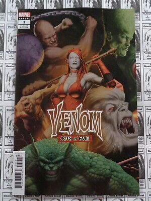 Venom (2019) Marvel - Annual #1, John Tyler Christopher Variant, NM