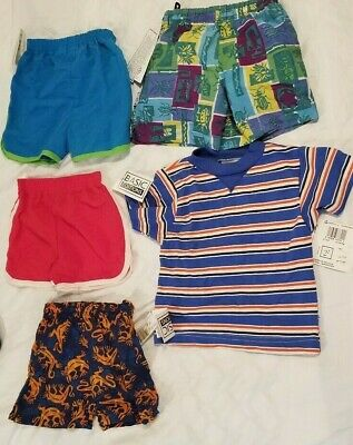 Lot of 5 boys clothes size 12M - 3T 4 shorts and 1 shirt