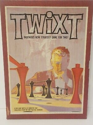 Vintage 3M 1962 TWIXT Bookshelf Strategy Board Game - 100% Complete
