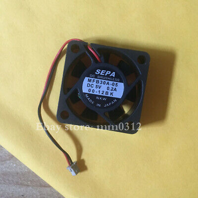 1pcs  SEPA MFB30A-05 3012 3cm 5V 0.2A Double Ball Notebook Fan