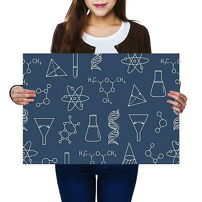 A2 |Chemistry Physics Biology Size A2 Poster Print Photo Art Student Gift #13001