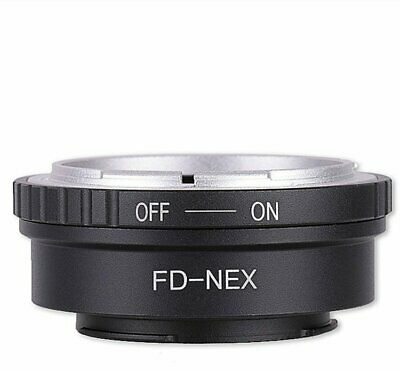 Canon FD Lens to Sony E-Mount a6000 a5000 A7R NEX-5T a5100 adapter