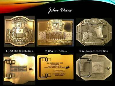 John Deere Belt Buckle Collection