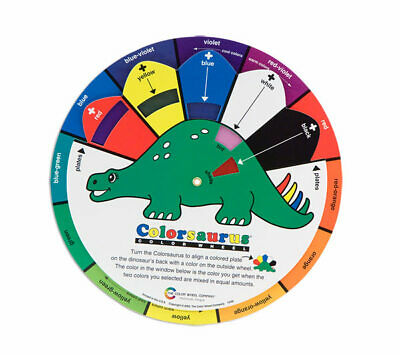 The Color Wheel Company Colorsaurus Color Wheel