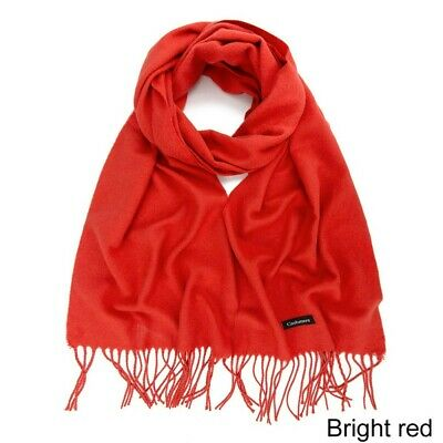 Womens Girls long Scarf soft Cashmere Wrap Shawl Scarves Candy Color Fashion New