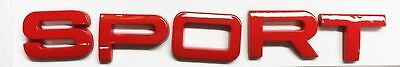 x1 New Red SPORT Emblems for Range Rover Replaces OEM Land Rover Badge LR037600