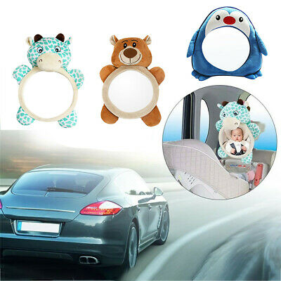 1X Baby Mirror Car Back Seat Cover for Infant Child Rear Ward Safety View Toys