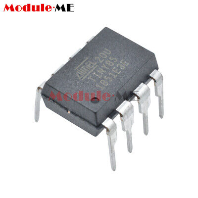 ATTINY85-20PU IC MCU 8BIT 8KB FLASH 8DIP Top