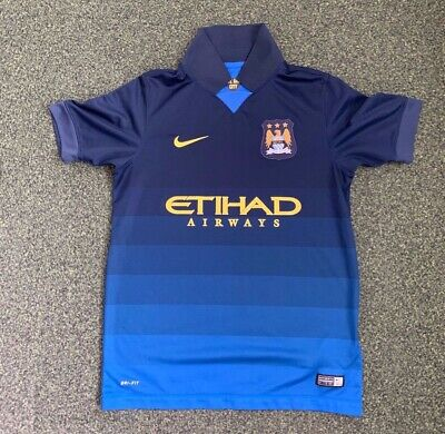 Manchester City Home Football Shirt - Childs - Age 12 - 13 years - Nike (73)