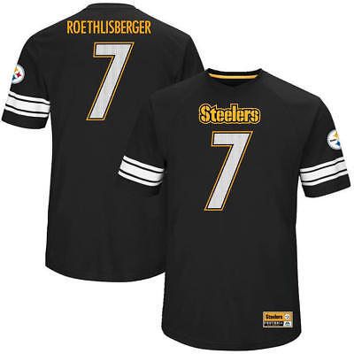 #7 Ben Roethlisberger Pittsburgh Steelers Majestic NFL Jersey Mens M Brand new