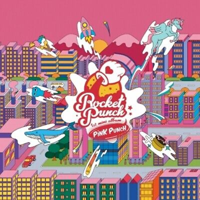 ROCKET PUNCH 1st Mini Album - [PINK PUNCH] CD+Booklet+Pop-Up Card+Sticker+P.Card