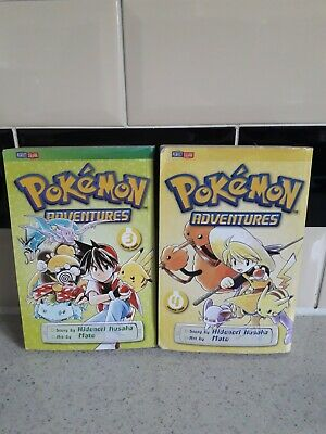Pokemon Adventures Manga 3 And 4