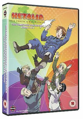 Hetalia Axis Powers Complete Season 1-4 Collection (DVD) Daisuke Namikawa