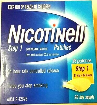 Nicotine Patches 28 Patches NEW