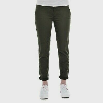 Tommy Hilfiger Denim THDW Chino Plus Damen Stretch Hose Khaki Pants W26-W33 L30