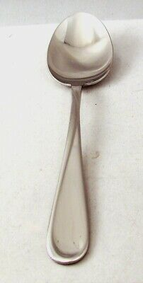 Oneida Stainless Steel FLIGHT RELIANCE Lot of 2 Oval Soup Spoons
