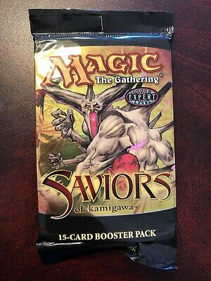 Saviors MTG Booster Pack x 3 New Factory Sealed Condition (RG) 4RCards