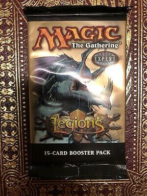 Legions MTG Booster Pack x 3 New Factory Sealed Condition (RG) 4RCards