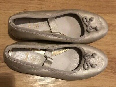 Clarks Girls Leather Shoes Size Eur 32 / 13 F