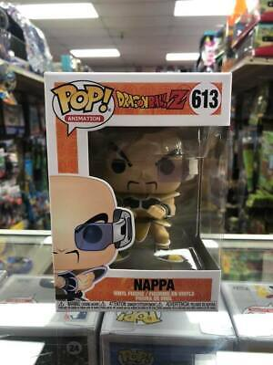 "Funko Pop Dragon Ball Z : Nappa Vinyl Figure with .5mm protector case ""MINT"""