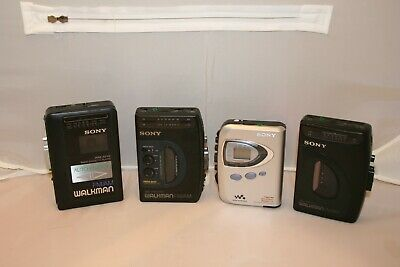 Vintage Sony Walkman Lot of 9