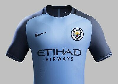 Manchester City FC Nike Player Issue Aeroswift Vapor Home Shirt Mens Large BNWT