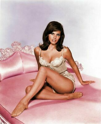 Raquel Welch In Lingerie Pink Sheets 8x10 Picture Celebrity Photo