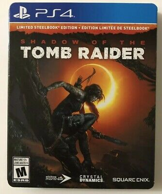Shadow of the Tomb Raider [Limited Steelbook Edition] PS4 (PlayStation 4, 2018)