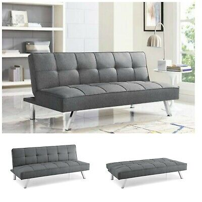 Surprising Sleeper Sofa Bed Grey Gray Convertible Couch Modern Living Bralicious Painted Fabric Chair Ideas Braliciousco