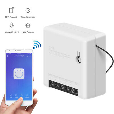 Smart Home Sonoff Basic WiFi Wireless Switch Module Fr IOS Android APP Control x