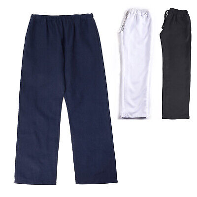 Unisex Chefs Trousers Chef Clothing Pants Kitchen Canteen Uniforms Drawstring