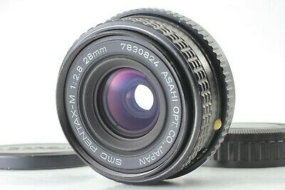 【N.MINT】SMC PENTAX-M 28mm f/2.8 K Mount Wide Angle MF Lens from Japan L51