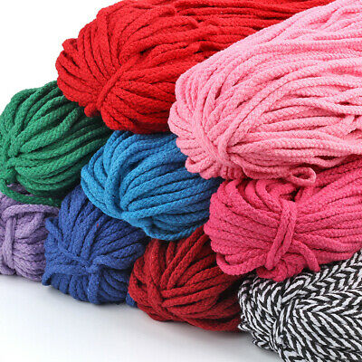 5mm 11 Colors Bobbiny macrame rope/ Natural Cotton String Twisted Cord - AU