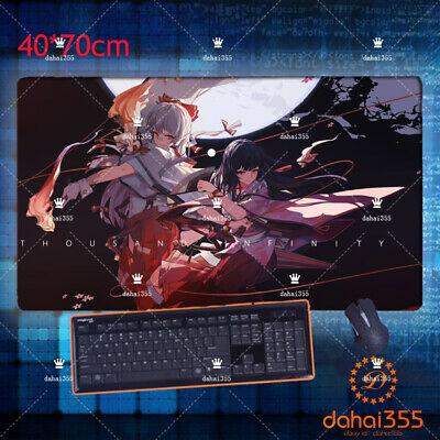 Anime touhou remilia scarlet Cosplay Mouse Mat Mouse Pad Otaku Gift 40*70cm#34