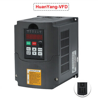 CE Variable Frequency Drive 5HP Speed Control CNC 380V 4KW Inverter VFD New