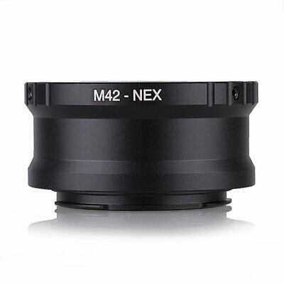 Metal M42 to Sony E mount Adapter Screw Lens NEX a5000 A7 A7R A7II A7MII