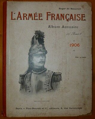 Beauvoir: L' Army French - Album Yearbook - 1906