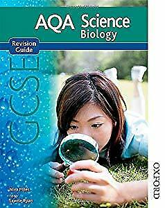 New AQA GCSE Biology Revision Guide (New Aqa Science Gcse), Miles, Niva, Used; A